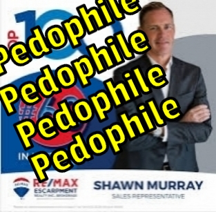 Shawn Murray. Dangerous Pedophile.Real Estate Agent in Hamilton, Ancaster, Ontario,Canada